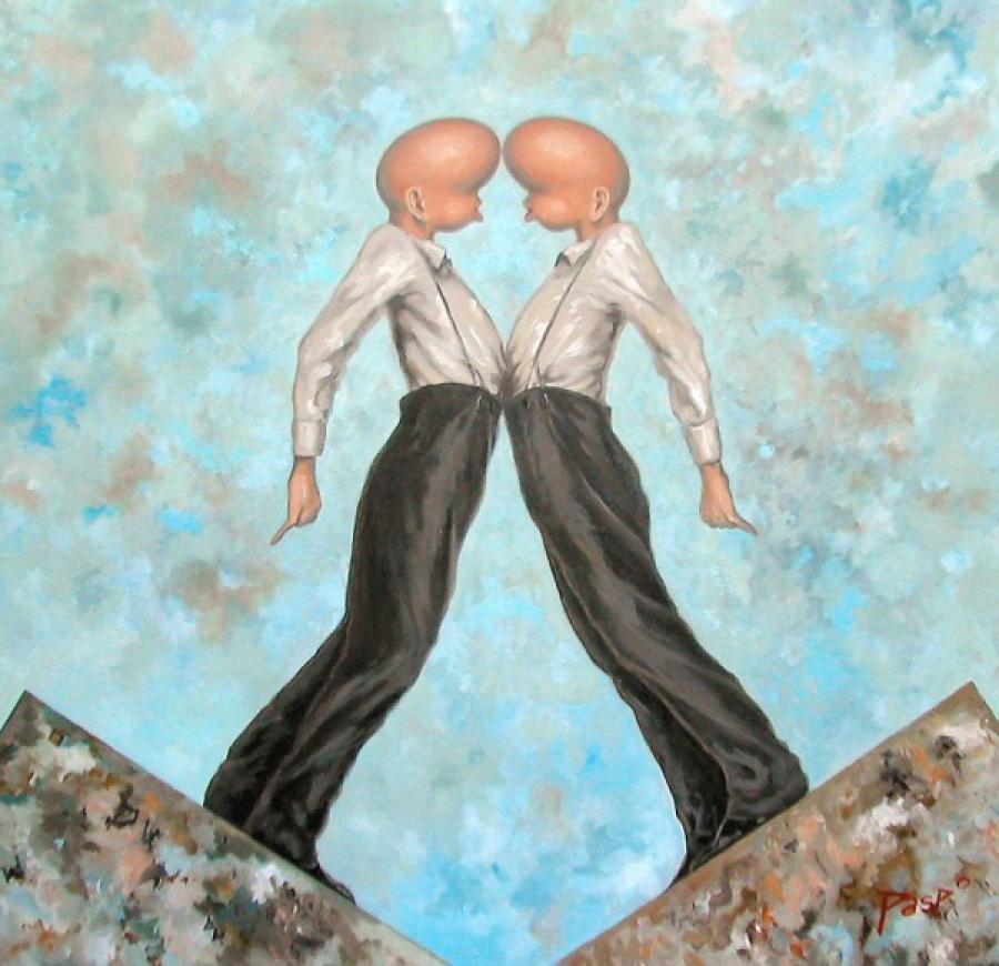 Kunst: Het weerzien van kunstenaar Paddy Spoelder