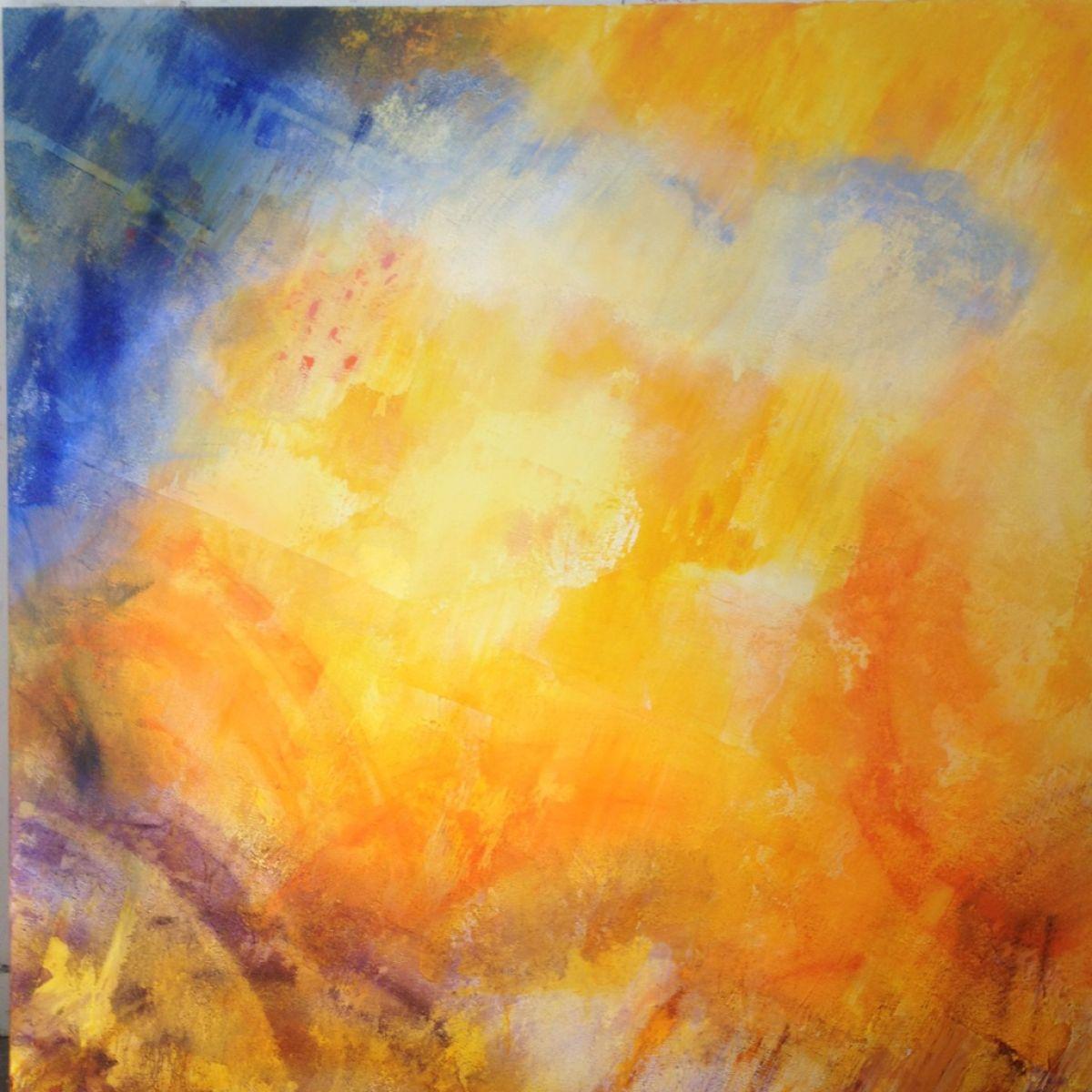 Kunst: higgsdeeltjes van kunstenaar  Brighart