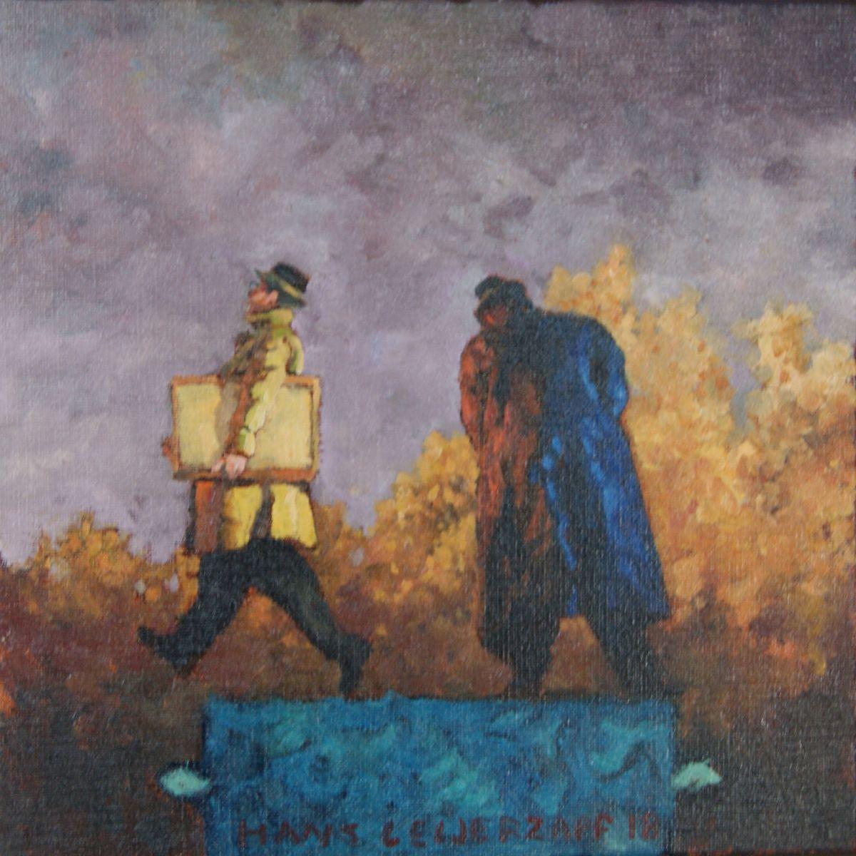 Kunst: Hij die niet luisteren wilde van kunstenaar Hans Leijerzapf