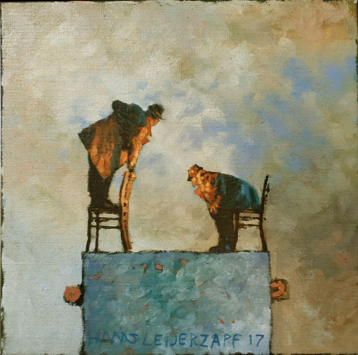Kunst: Hoe zij het denken te doen van kunstenaar Hans Leijerzapf