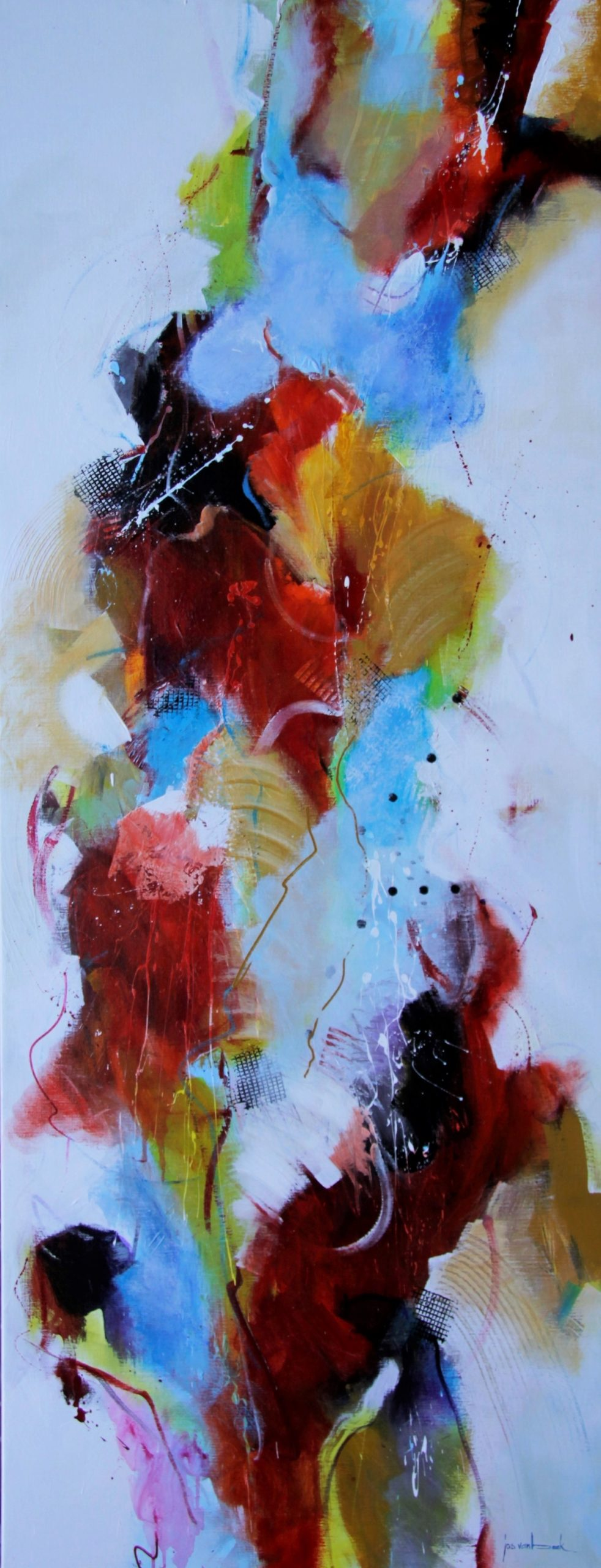 Kunst: Hoger en hoger van kunstenaar Jos van Beek