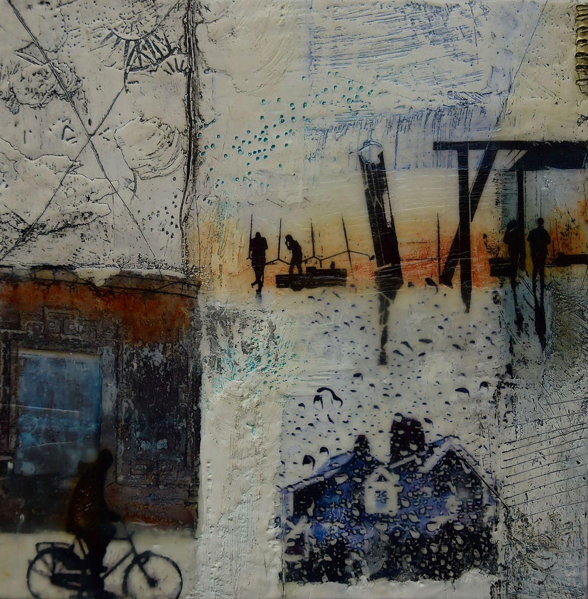 Kunst: Home I van kunstenaar Trijnie Mohlmann