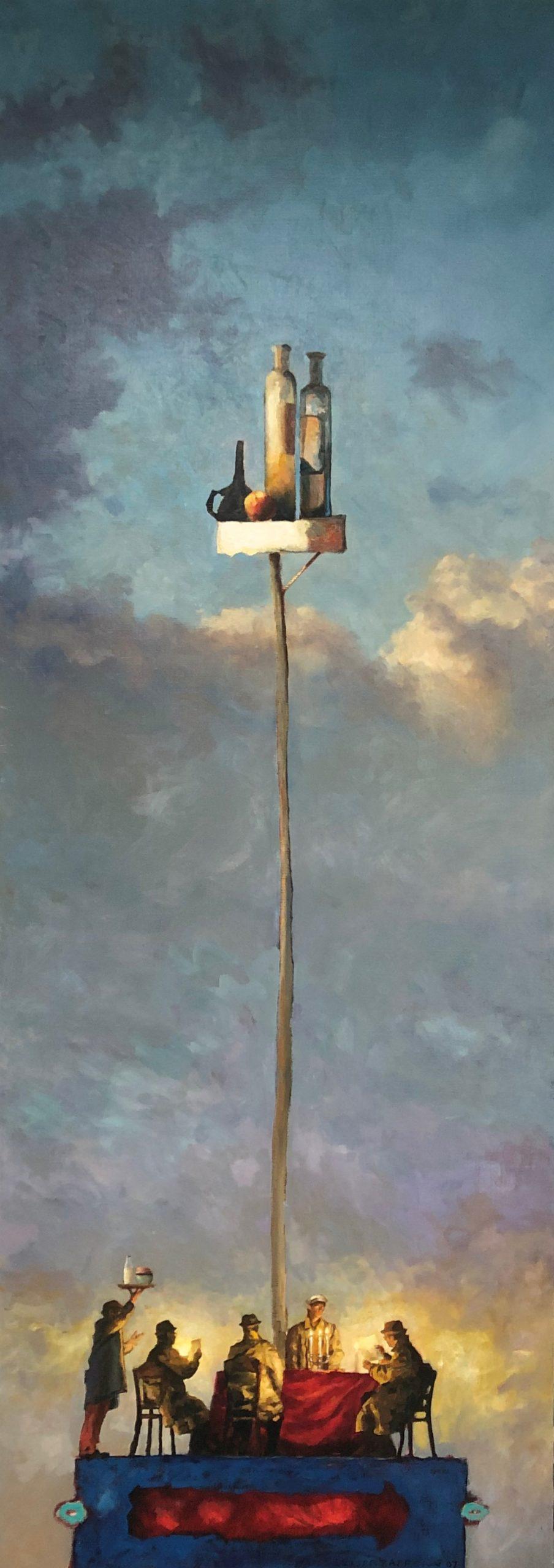 Kunst: Hoog vertoon van kunstenaar Hans Leijerzapf