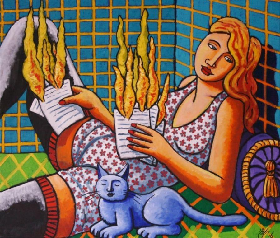 Kunst: Hot mail van kunstenaar Jacques Tange