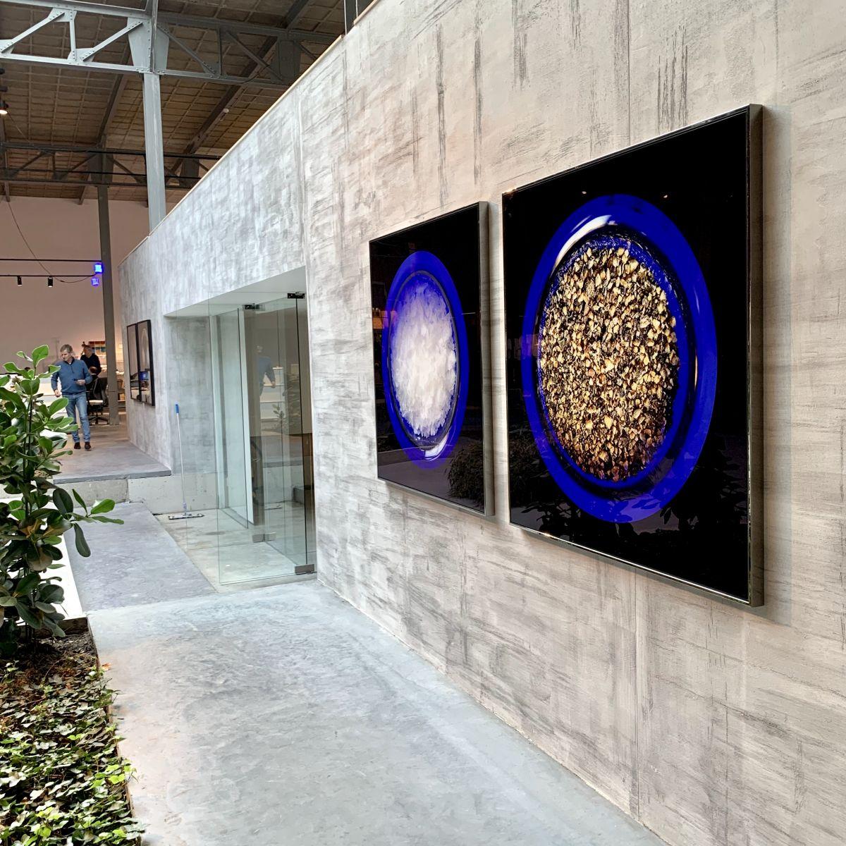 Kunst: HOT & SALTY (2 werken) van kunstenaar Anouk van Tetering (Anoukart)