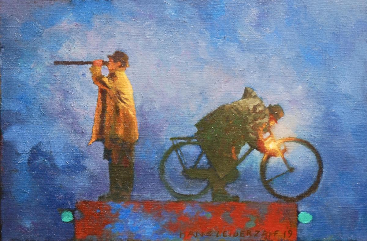 Kunst: Hulp op komst van kunstenaar Hans Leijerzapf