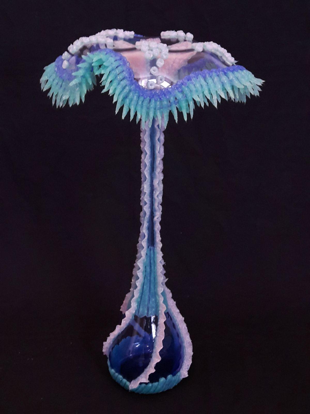 Kunst: Hydra-blue van kunstenaar Janine Schimkat