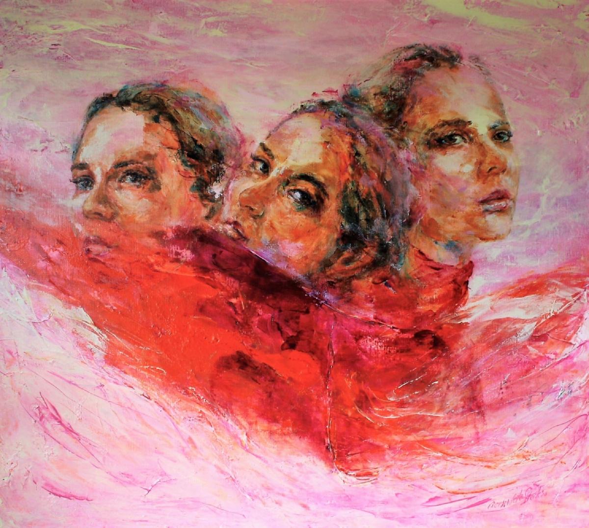 Kunst: I See You, see me, I See You van kunstenaar Bernadette Sterk