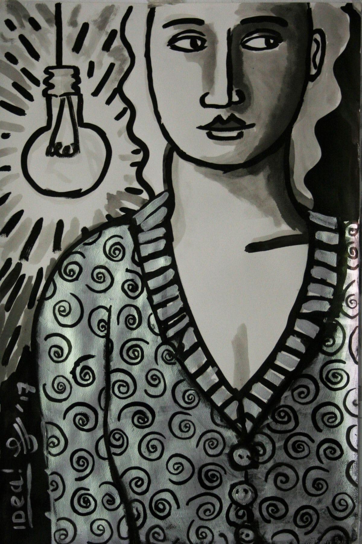 Kunst: Idea van kunstenaar Jacques Tange