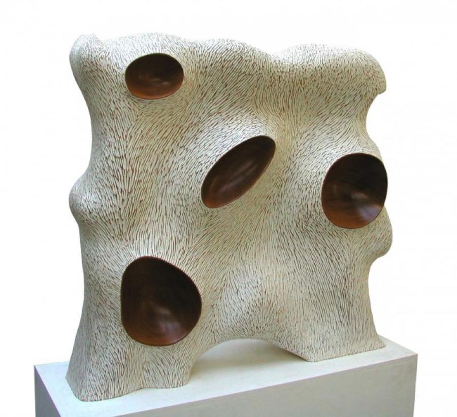 Kunst: IJsbeer incognito van kunstenaar Frans Muhren
