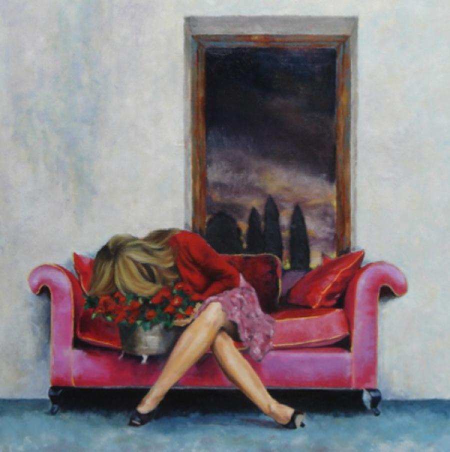 Kunst: Ik ben het even kwijt van kunstenaar Miranda Karskens