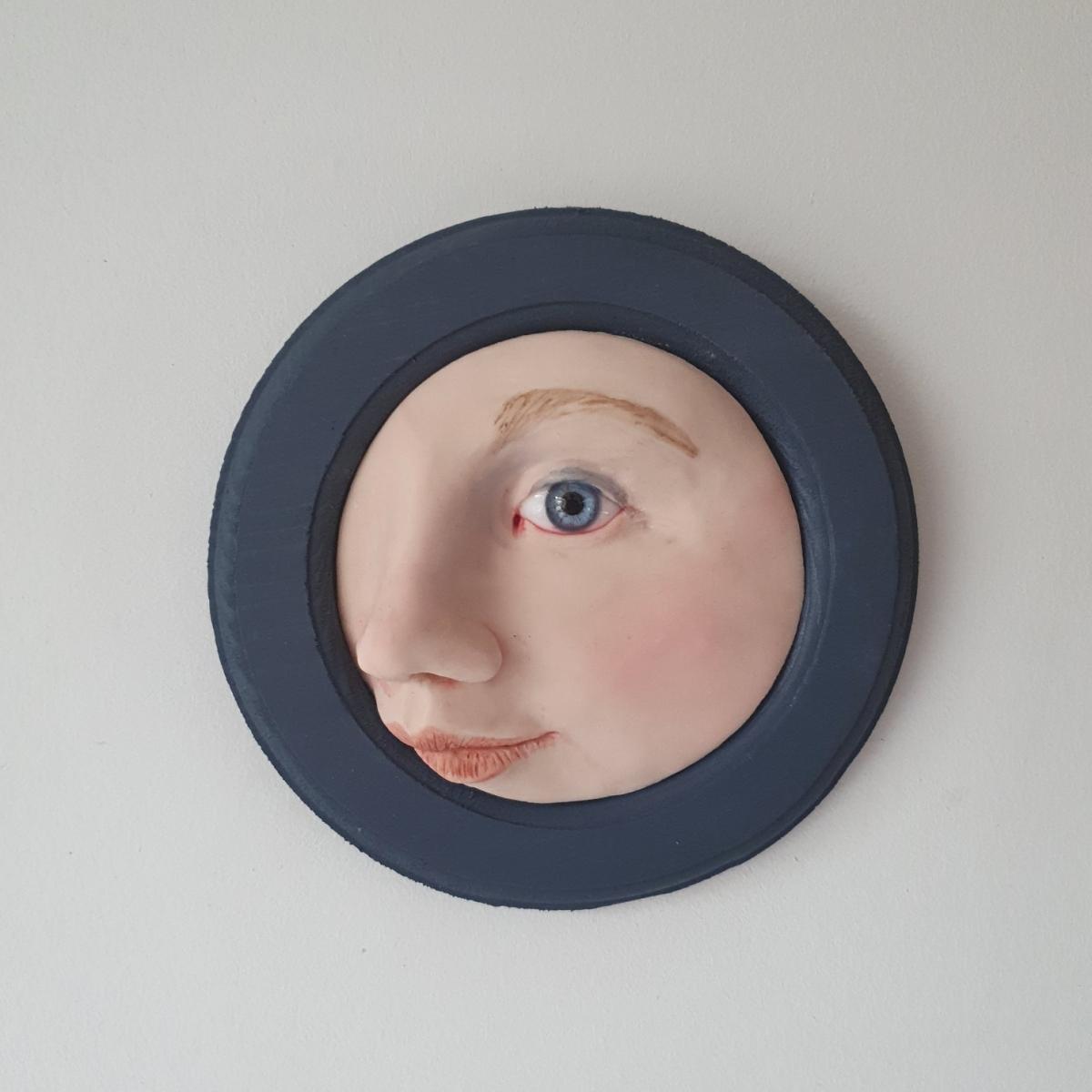 Kunst: Ik blauw van jou van kunstenaar Saskia Hoeboer