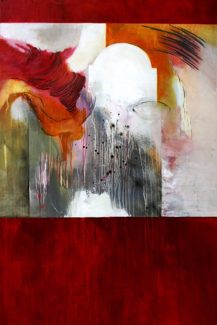 Kunst: Ik zakte uit de droom weg…. van kunstenaar Toos van Poppel