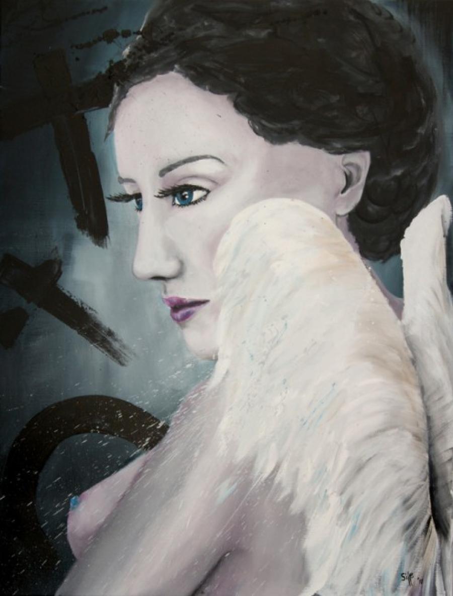 Kunst: Illusion with Wings I van kunstenaar Tamara Sille