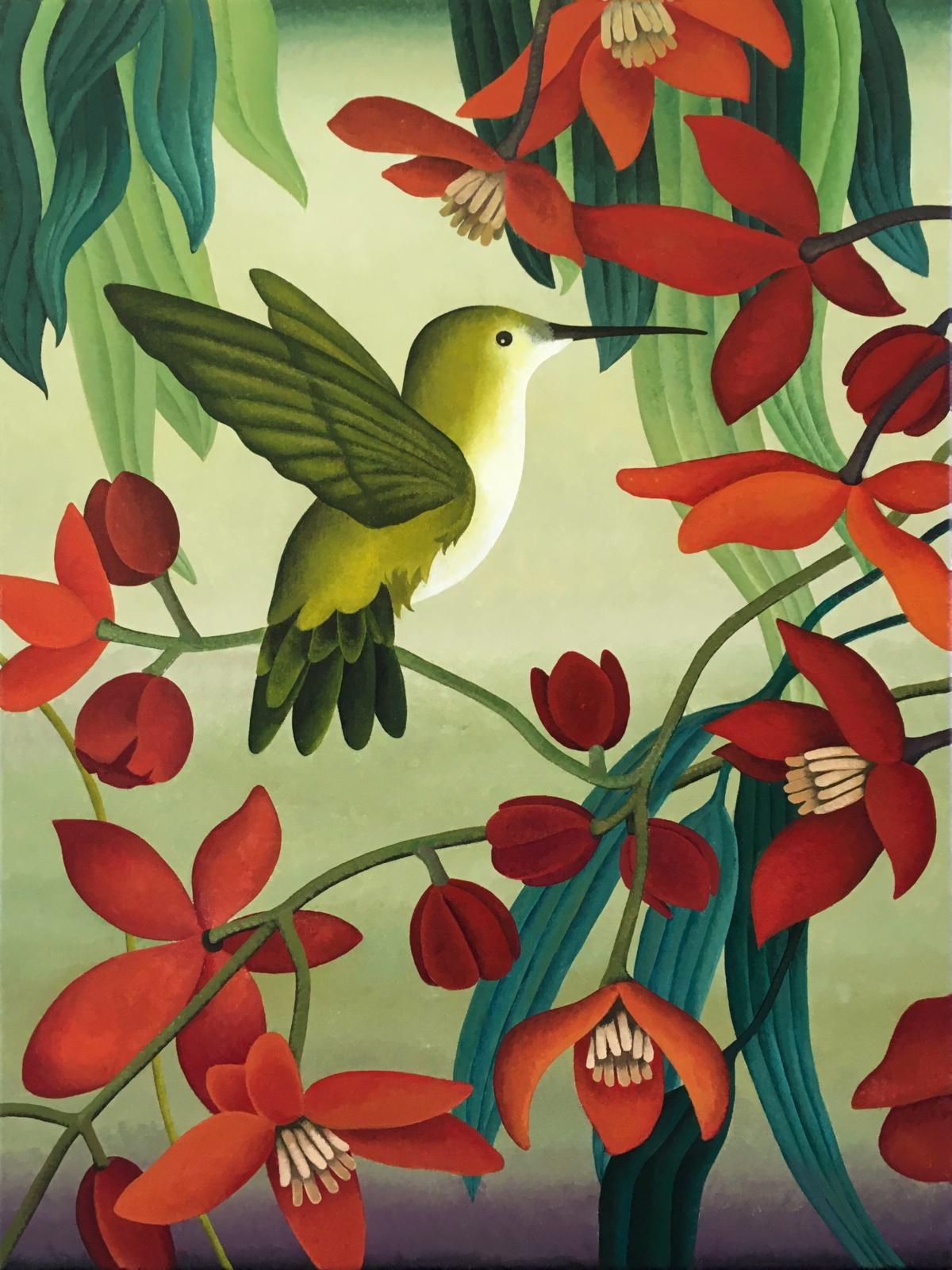 Kunst: In bloom van kunstenaar Yvonne Zomerdijk