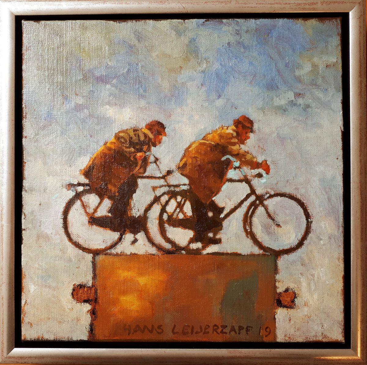 Kunst: In de buitenlucht van kunstenaar Hans Leijerzapf