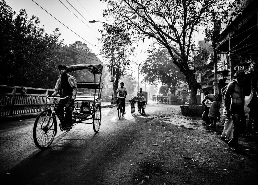 Kunst: India today (2014) van kunstenaar Gertjan van Geerenstein