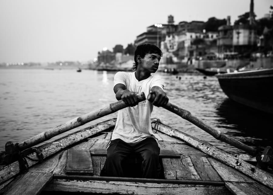 Kunst: India today (2014) nr2 van kunstenaar Gertjan van Geerenstein