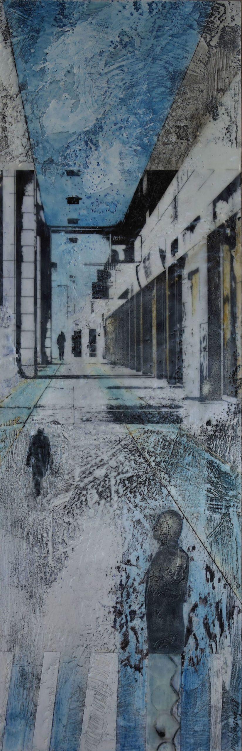 Kunst: Ingezonden thema Ritma nr. 2 van kunstenaar Trijnie Mohlmann