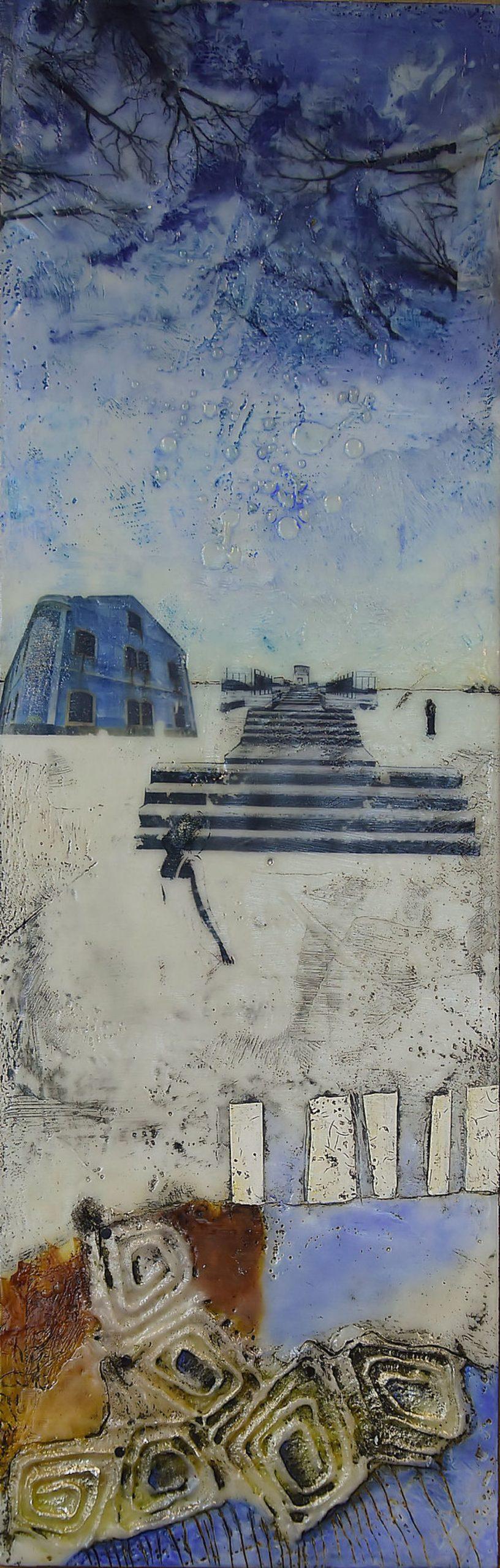 Kunst: Ingezonden thema Ritme nr 1 van kunstenaar Trijnie Mohlmann