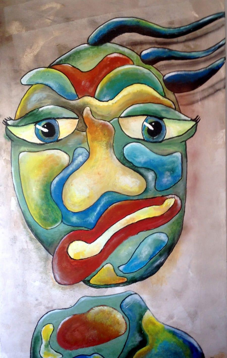 Kunst: It is me again van kunstenaar Carla Broeckx