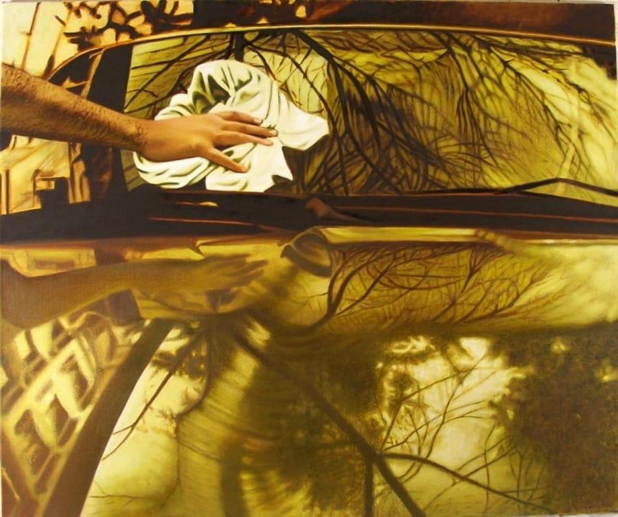 Kunst: its in the blood van kunstenaar Leo Wijnhoven
