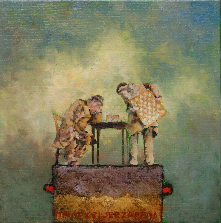 Kunst: Je zal het altijd zien van kunstenaar Hans Leijerzapf