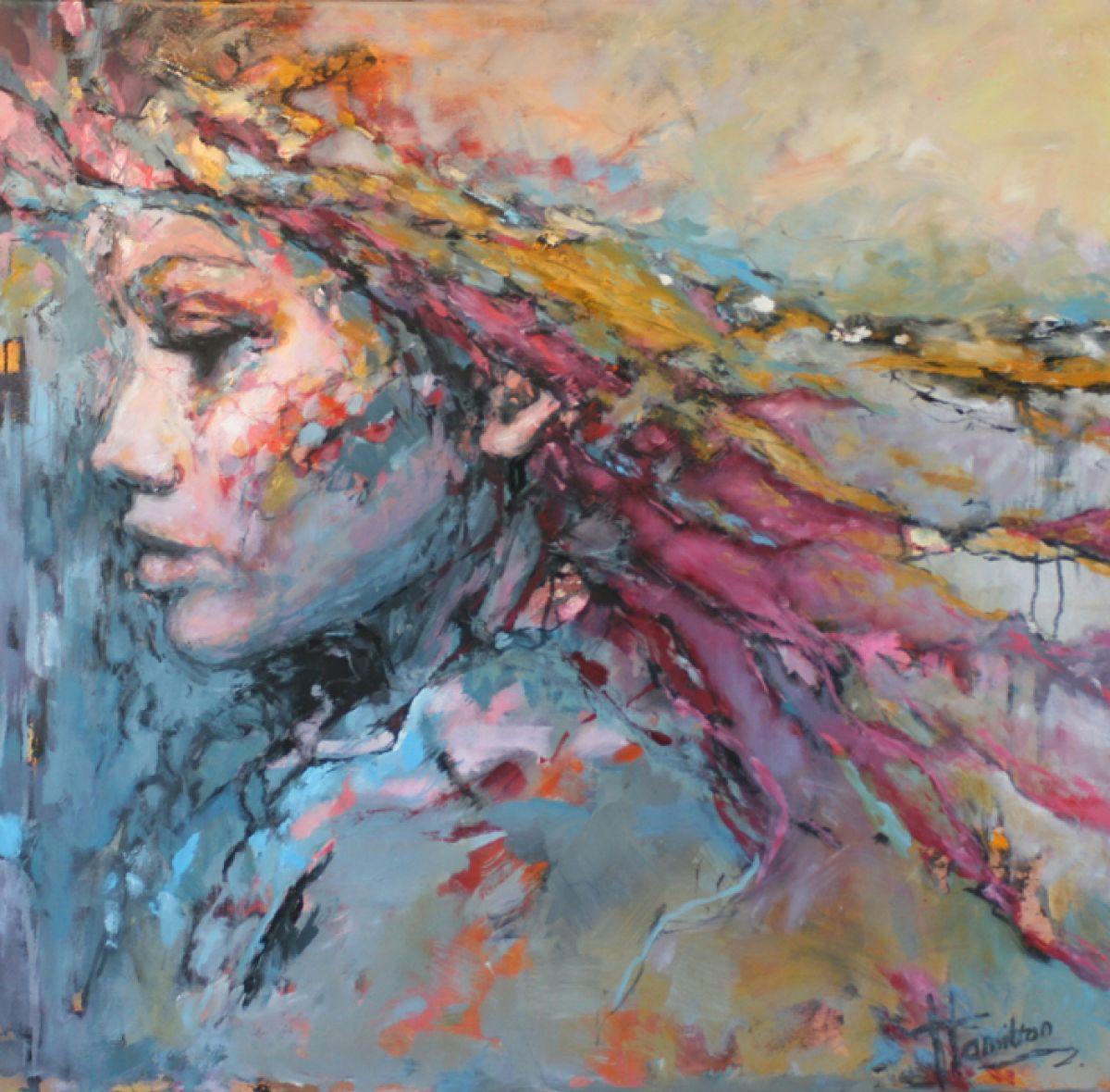 Kunst: Jill van kunstenaar Evelyn Hamilton