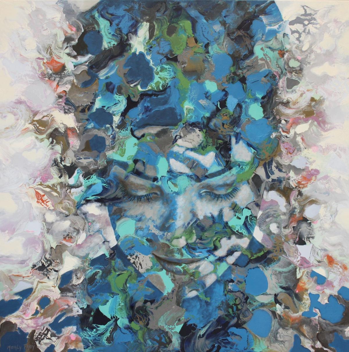 Kunst: July van kunstenaar Marly Freij(portretten)