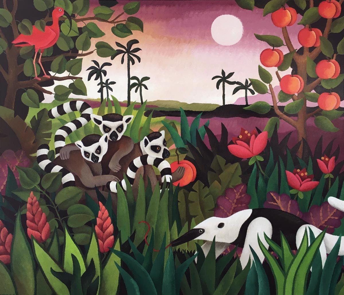 Kunst: Jungle fever van kunstenaar Yvonne Zomerdijk