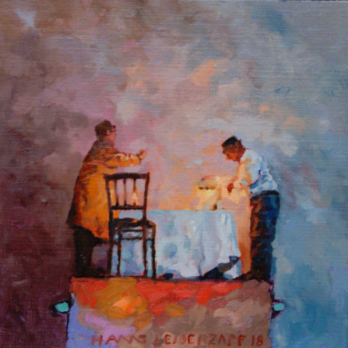 Kunst: Kalme heren van kunstenaar Hans Leijerzapf