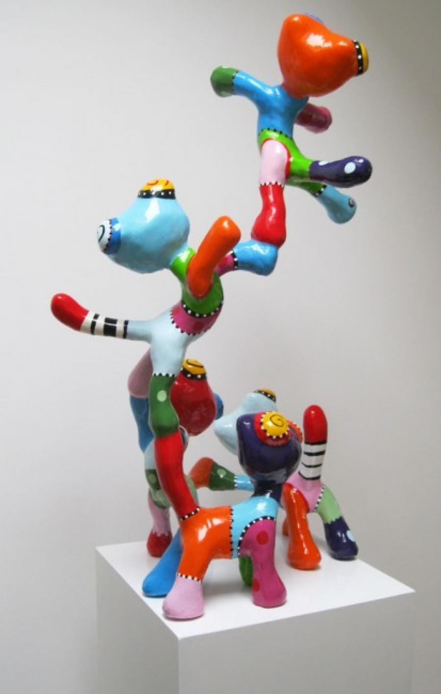 Kunst: Kattentoren van kunstenaar Jacky Zegers