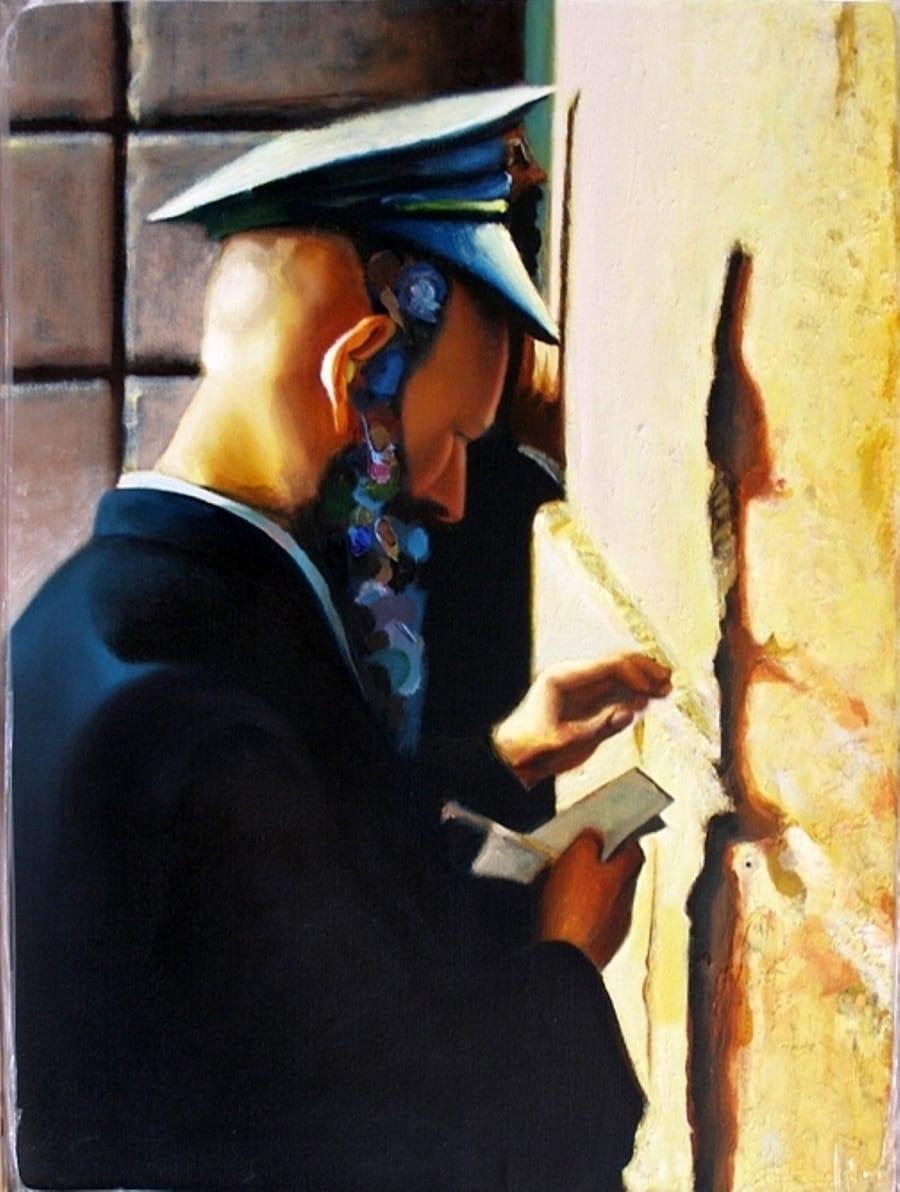 Kunst: klaagmuur van kunstenaar Leo Wijnhoven