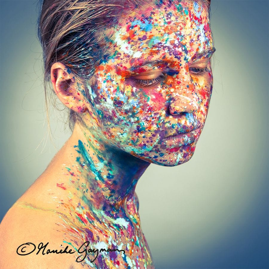 Kunst: Kleurexplosie 3.1 van kunstenaar Marieke Gaymans