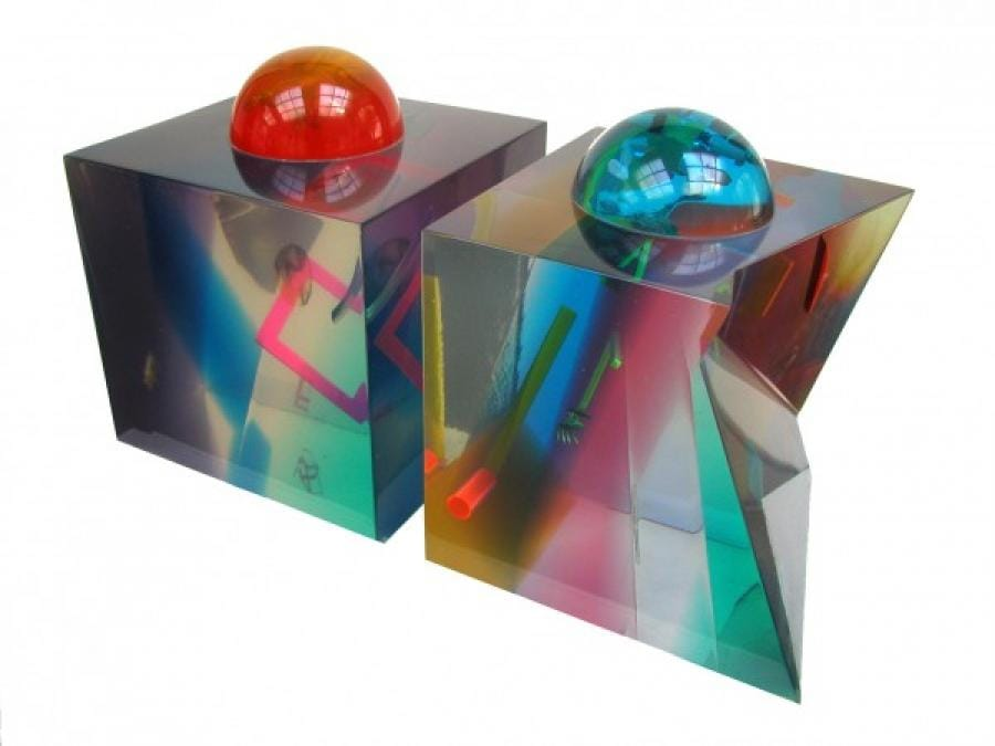 Kunst: Koepelkubussen van kunstenaar Frans Muhren
