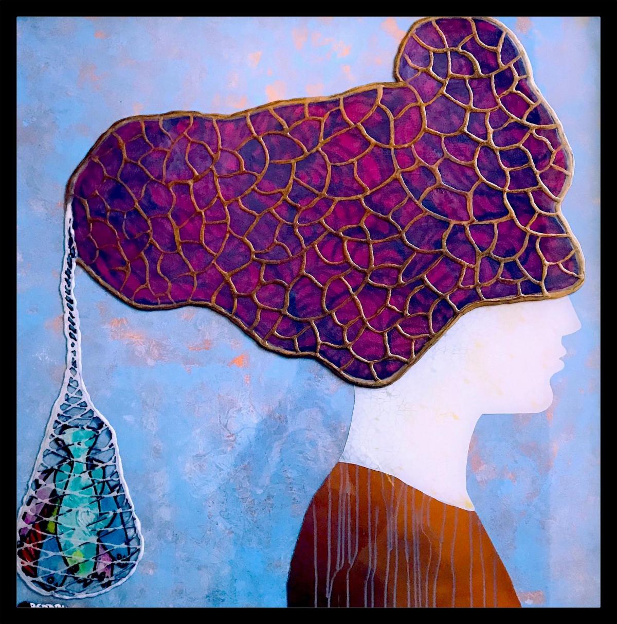 Kunst: La Donna di Mahè van kunstenaar Beddru Beddru