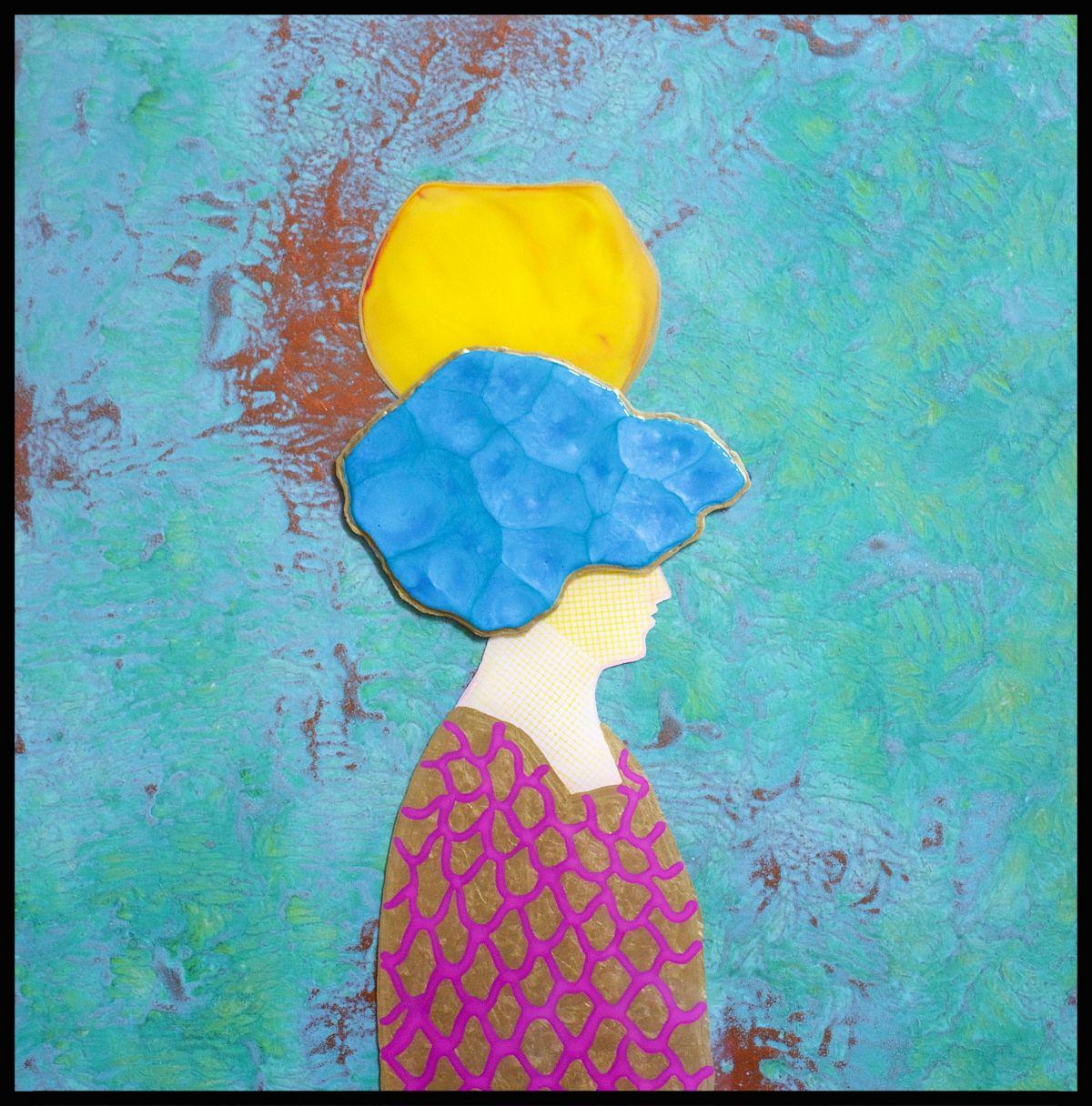 Kunst: La Femme Du Marche van kunstenaar  Beddru