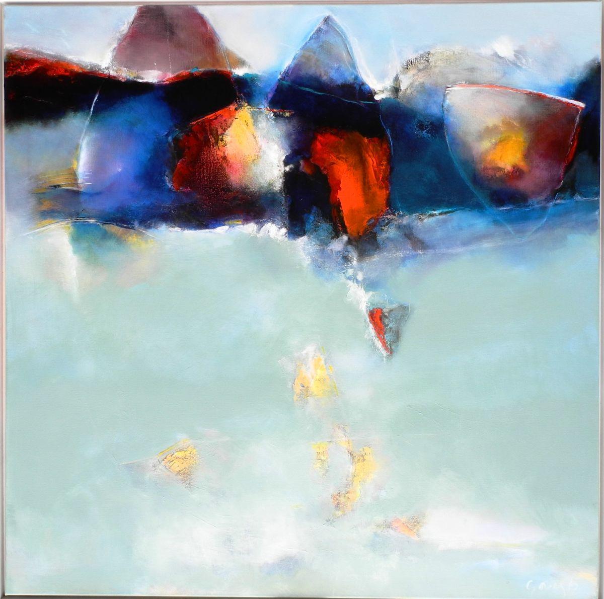 Kunst: La reflexion van kunstenaar Sietse Goverts