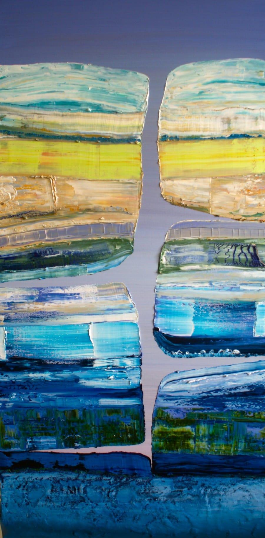 Kunst: Laagland II van kunstenaar Els Vegter