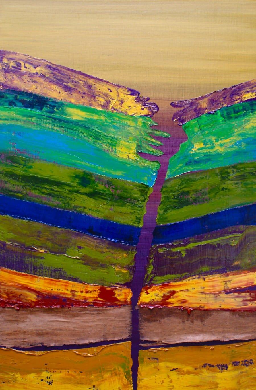 Kunst: Laagland IV – element aarde van kunstenaar Els Vegter
