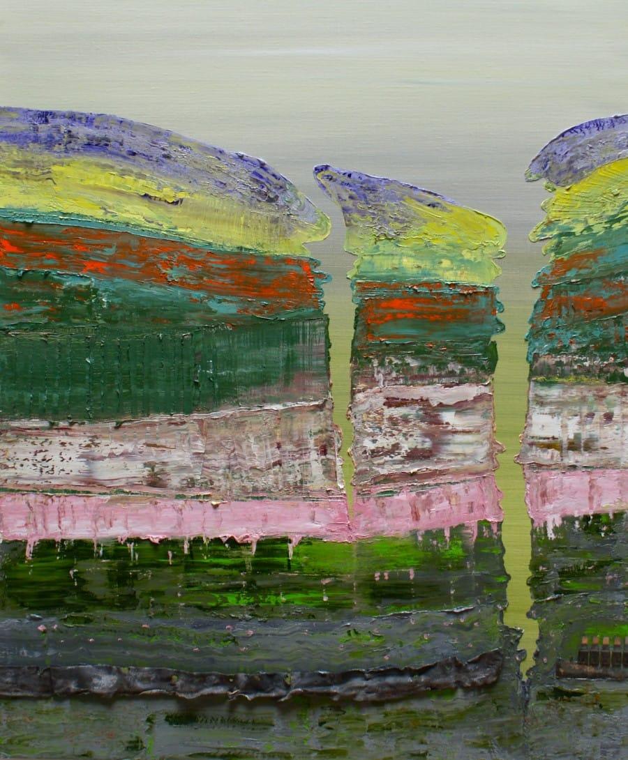 Kunst: Laagland X van kunstenaar Els Vegter