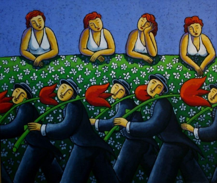 Kunst: Labour for love van kunstenaar Jacques Tange