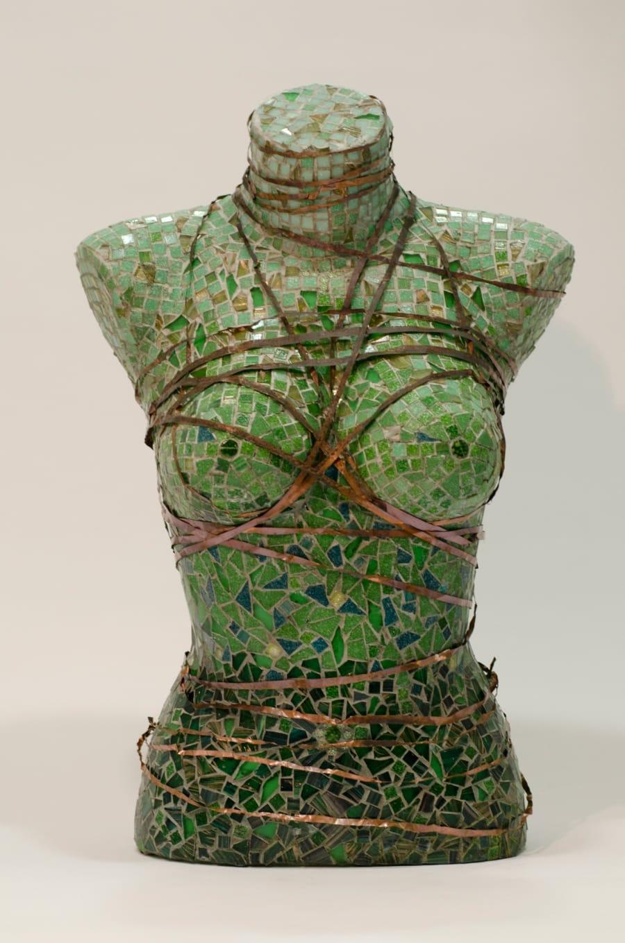 Kunst: Lady in Green van kunstenaar Els Grootaers