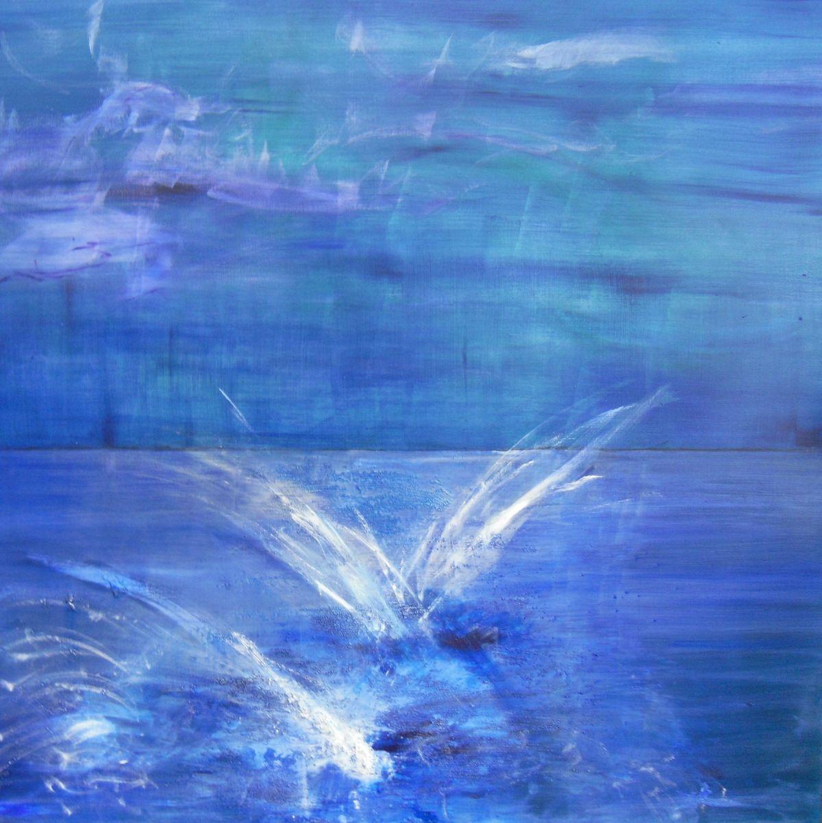Kunst: lake van kunstenaar  Brighart