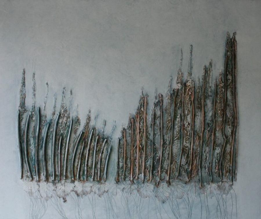 Kunst: Landscape van kunstenaar Els Vegter