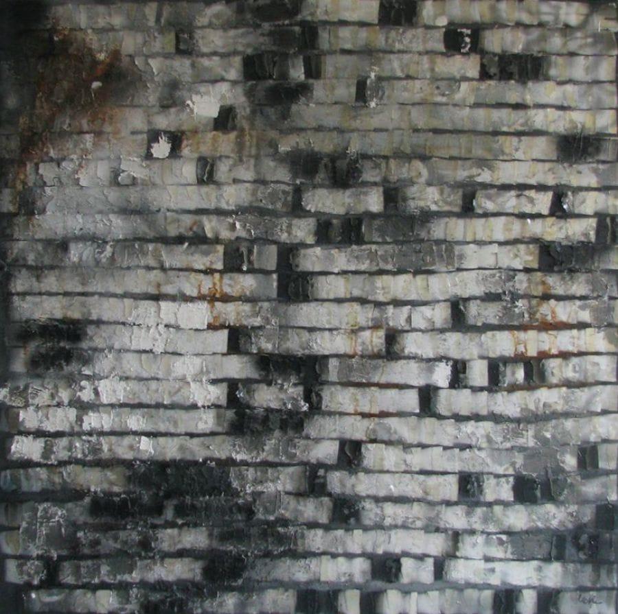 Kunst: Landscape of illusion van kunstenaar Ketlin van Esschoten