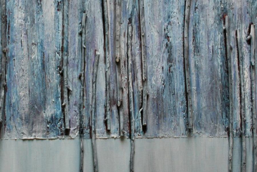 Kunst: Landschap VI – detail van kunstenaar Els Vegter