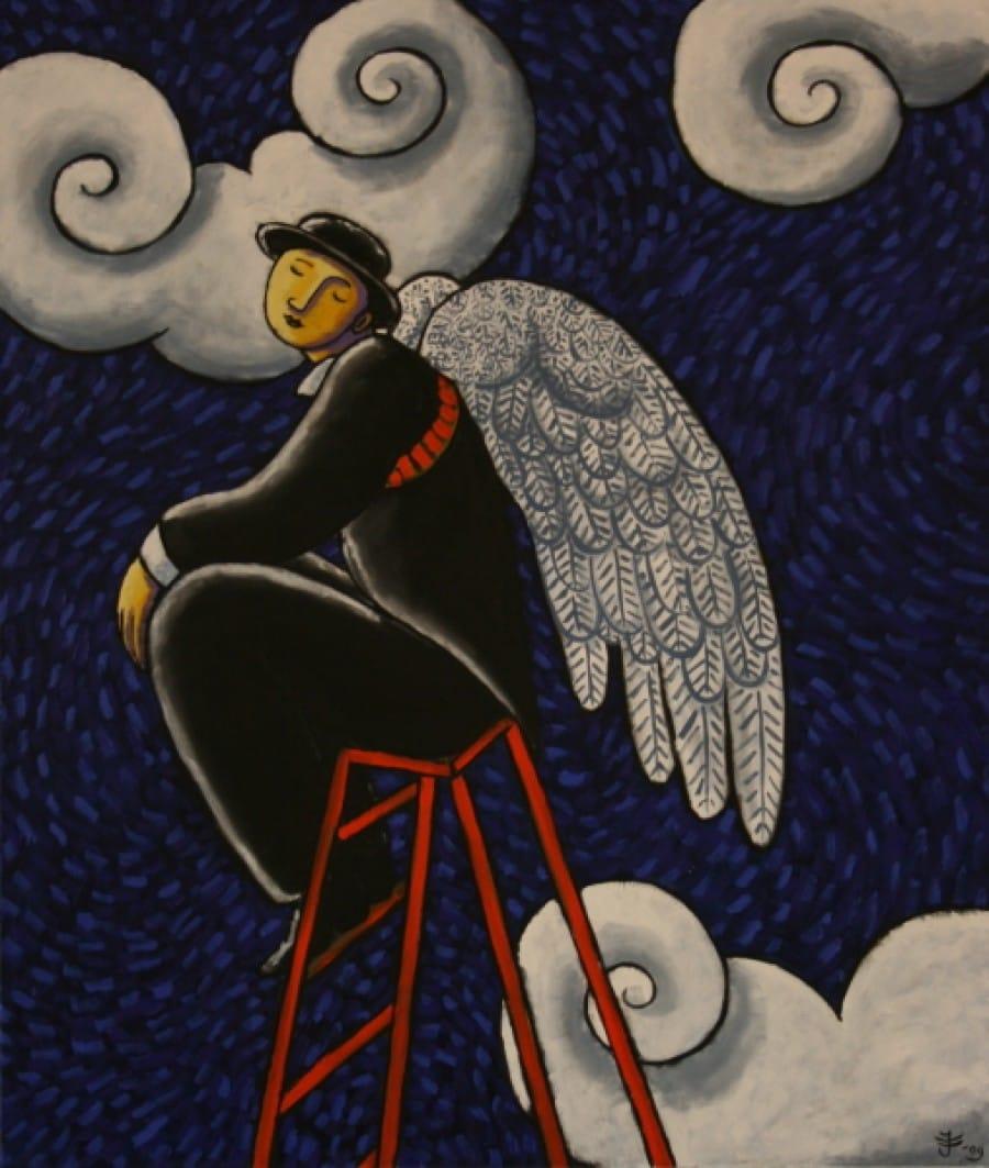 Kunst: L'ange perdu van kunstenaar Jacques Tange