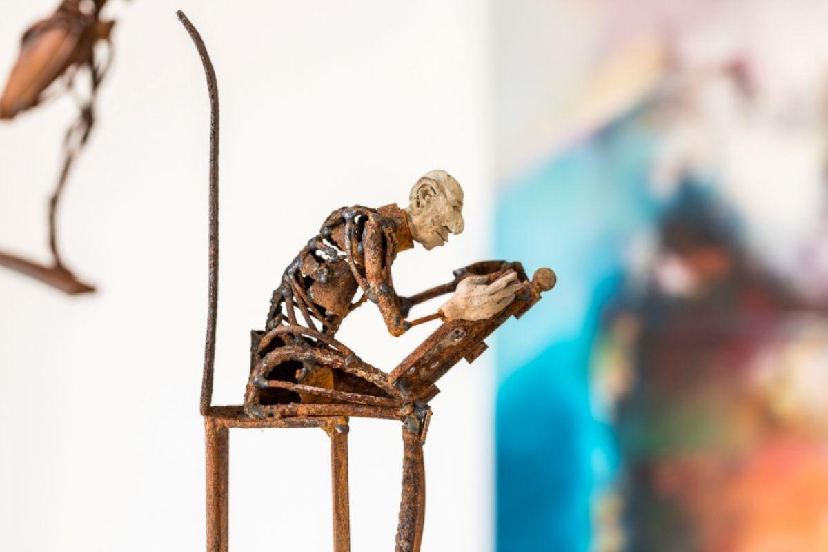 Kunst: Lector van kunstenaar Jan Verschueren