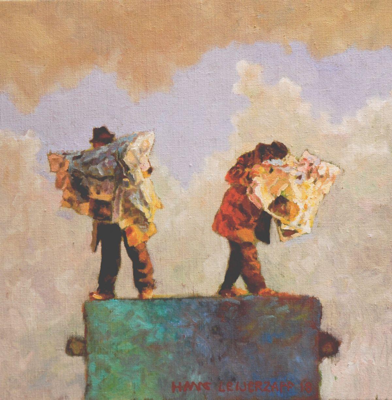 Kunst: Leg ze dat maar eens uit van kunstenaar Hans Leijerzapf